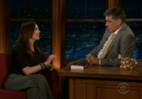 Annie Duke on 'The Late Late Show with Craig Ferguson' (9/5/11)