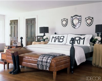 Monograms Are Staples Of A Preppy Home