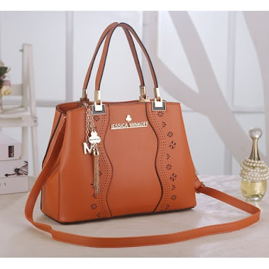 JESSICA MINKOFF BAG - ORANGE