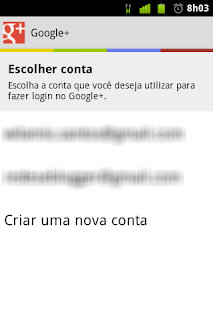 Google+ no Android