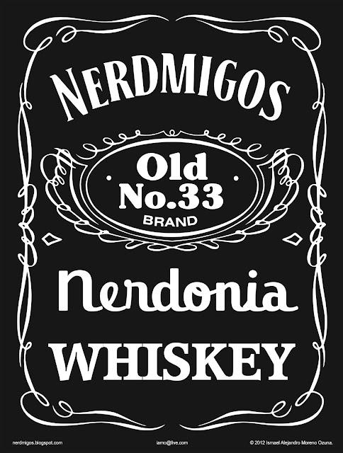 Nerdmigos Whiskey 33 IAMO