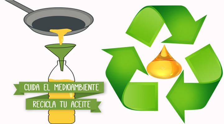 5 formas de reciclar el aceite de cocina usado detayes y for Reciclar aceite de cocina
