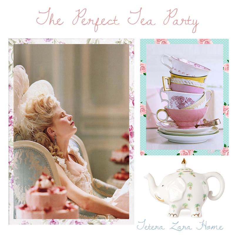 Trendy Pastel: The Perfect Tea Party!