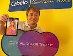 Gustavo Alves é 1º Lugar Estadual e 4º Nacional no Óscar da Beleza, o L'OREAL COLOR TROPHY 2011