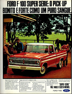 propaganda Pick-up Ford F-100 - 1979