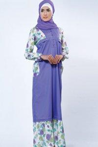 Manet Gamis 3223 - Ungu Muda (Toko Jilbab dan Busana Muslimah Terbaru)