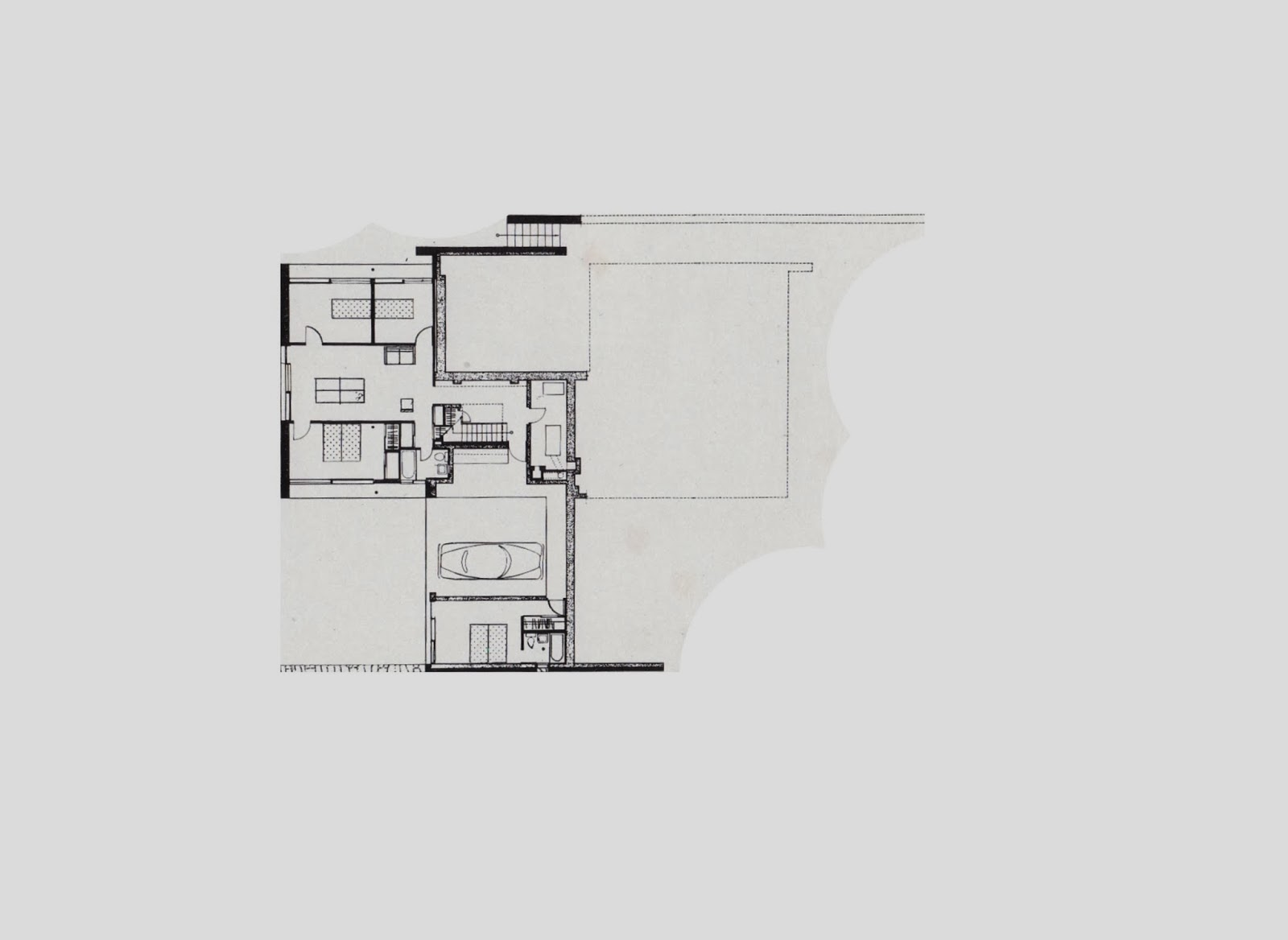 Historia de la arquitectura moderna casa clark marcel for Arquitectura moderna planos