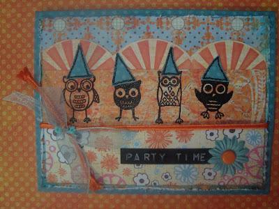 Owls Card 1