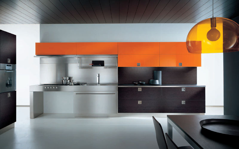 Italian kitchen cabinet interior design and deco for Modern italian kitchen