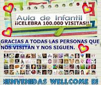 AULA DE INFANTIL: 100.000 VISITAS