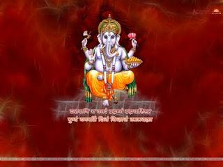 Ganesh Chaturthi Greetings Wallpapers