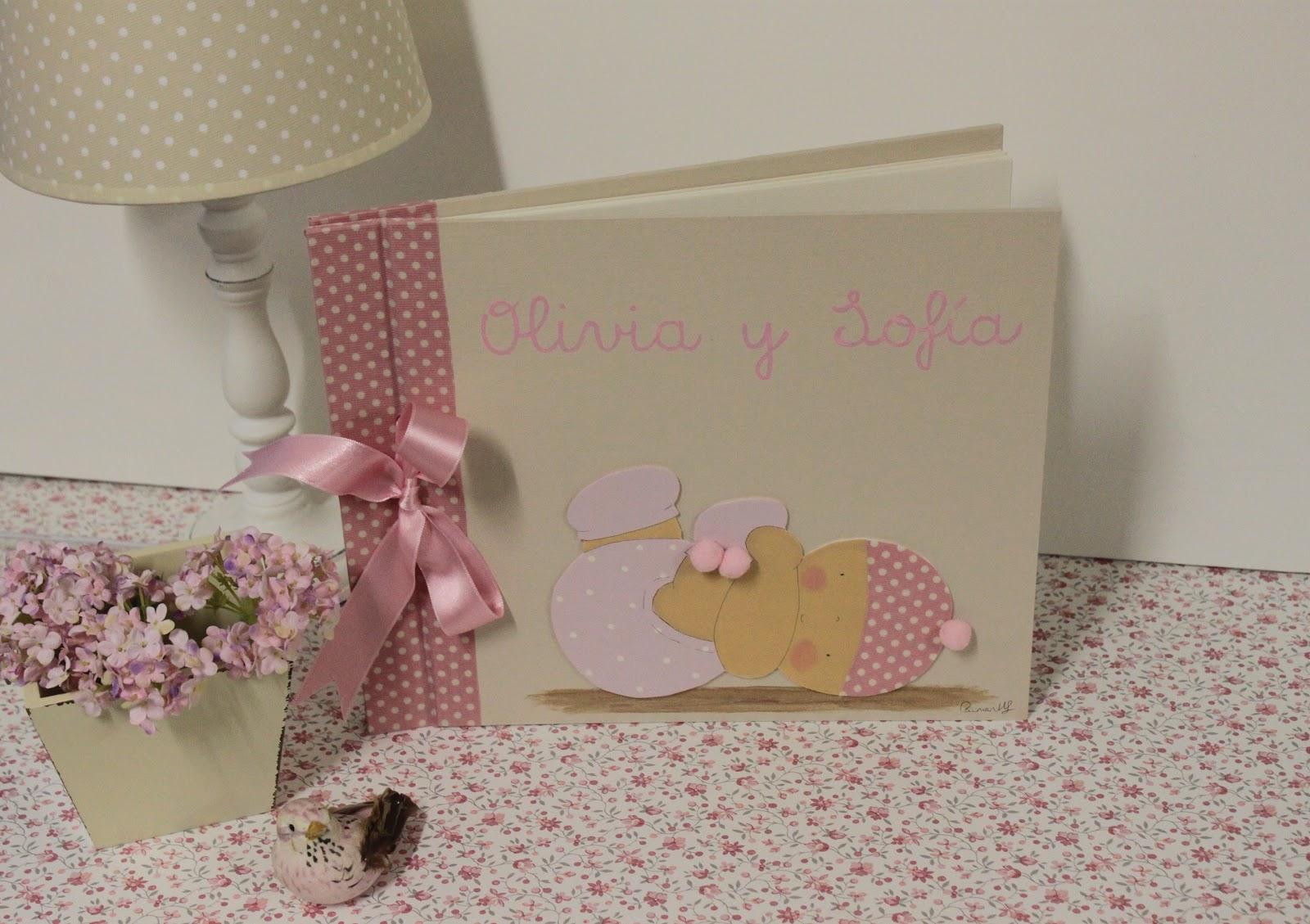 Albumes de fotos infantiles y personalizados con nombre - Cuadros fotos personalizados ...