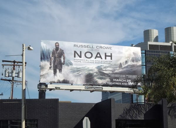Noah movie billboard