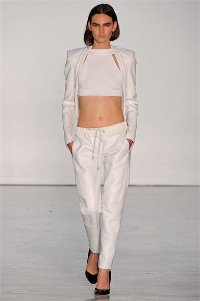 Dion Lee White Lookbook 2013. Australian High Fashion