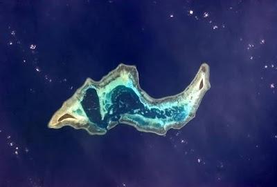 pulau mirip siput di Indonesia