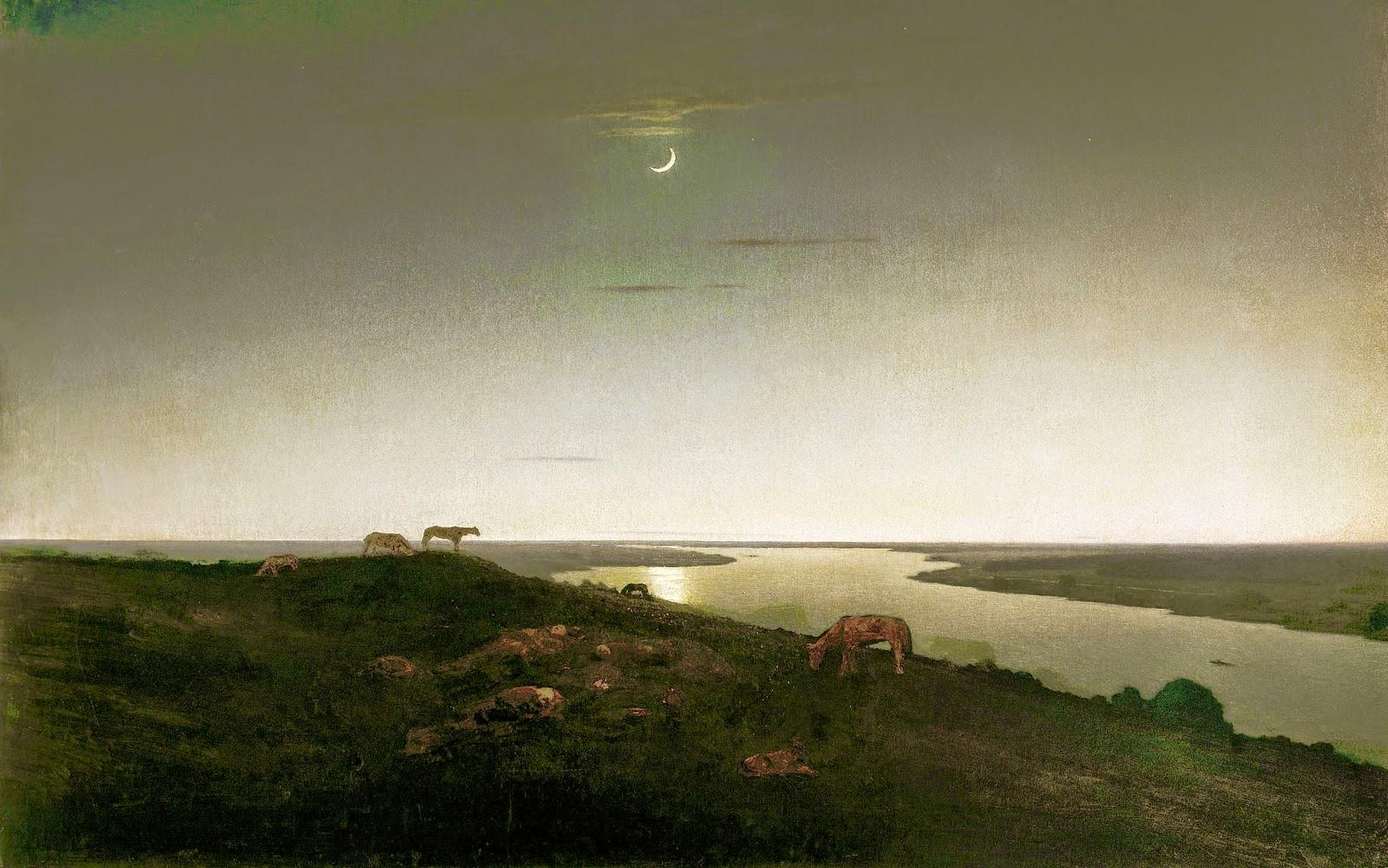 Архип Иванович Куинджи и его невероятные лунные ночи