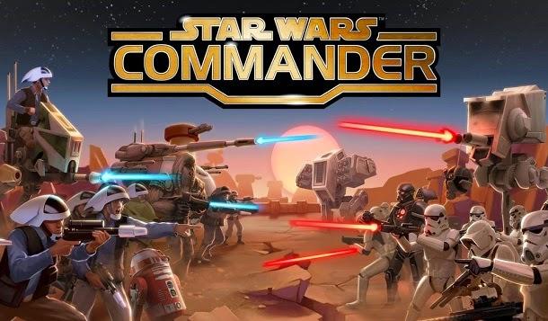 Comande exércitos de clones ou rebeldes em Star Wars: Commander
