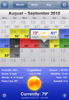 Apple iPhone Weather Apps: WeatherSnitch