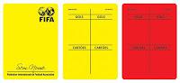 Cartões Personalizados - Modelo Futsal ( 8 x 11 ) - Múltiplos de 10