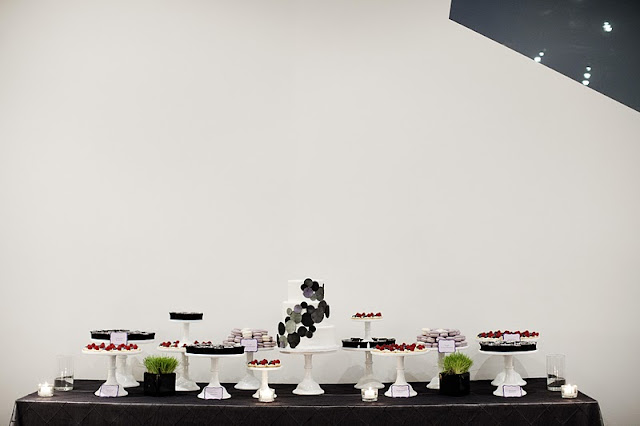 Modern Wedding Dessert Table