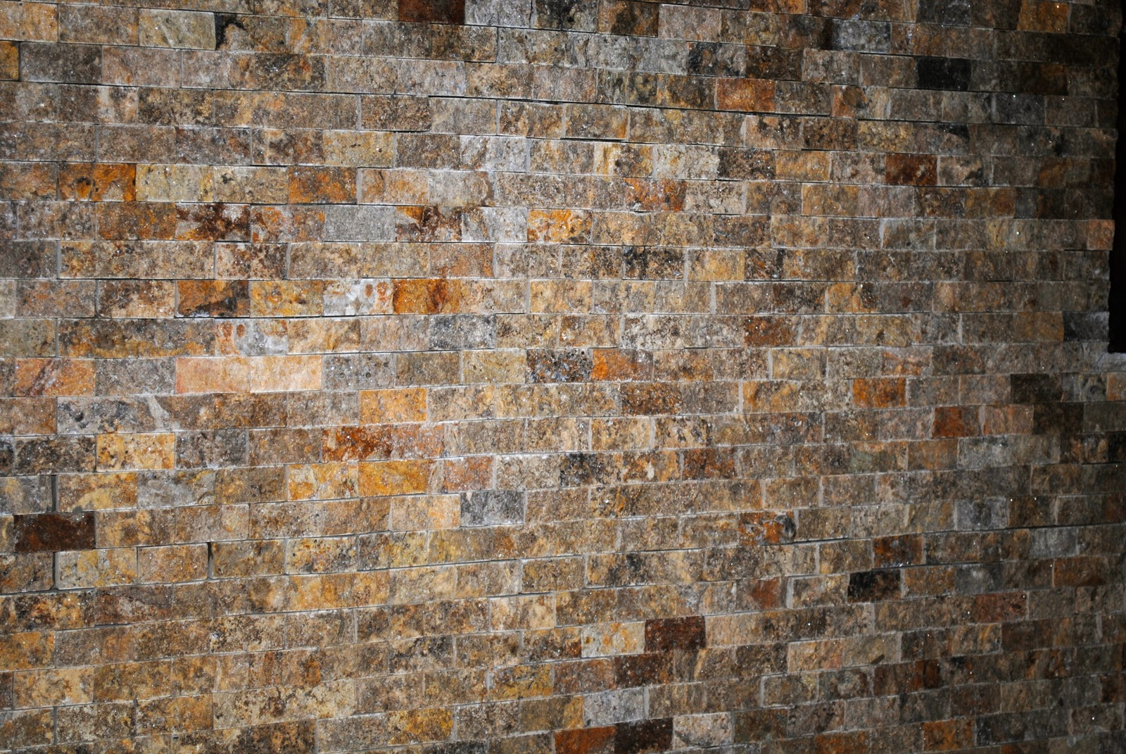 Trinity Classic Homes Split Face Stone Backsplash