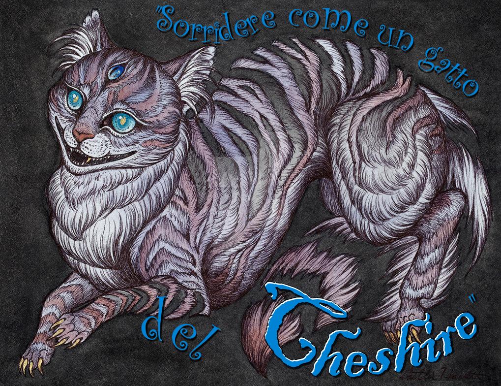 """""""Sorridere come un gatto del Cheshire"""""""