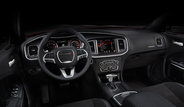 Interior view of 2015 Dodge Charger R/T