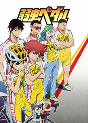 Poster anime Yowamushi Pedal