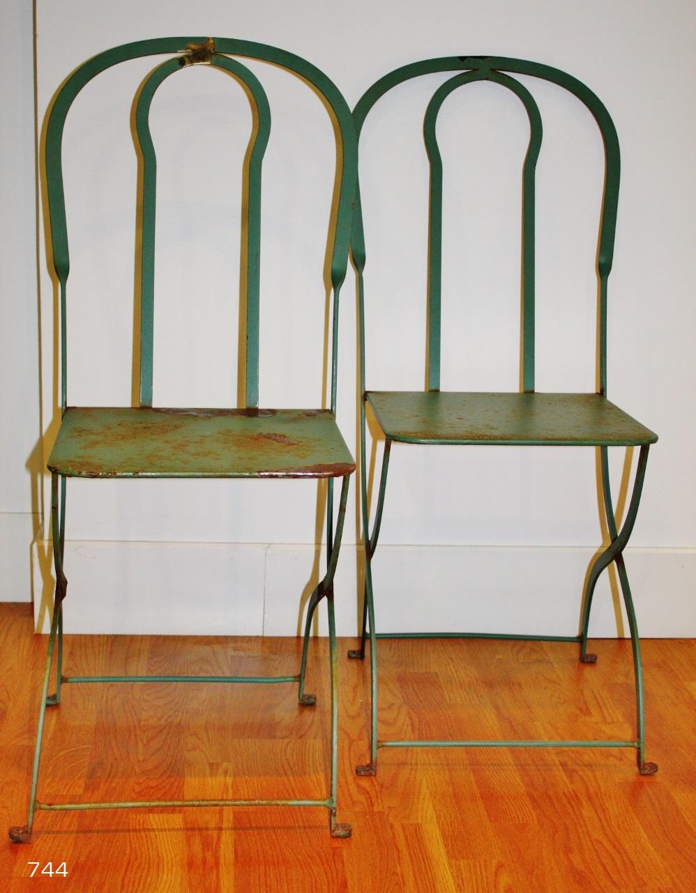 Sietecuatrocuatro sillas de hierro de jard n before for Sillas hierro jardin