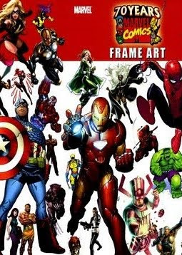 Artbook  70 Years Marvel Comics Frame Art