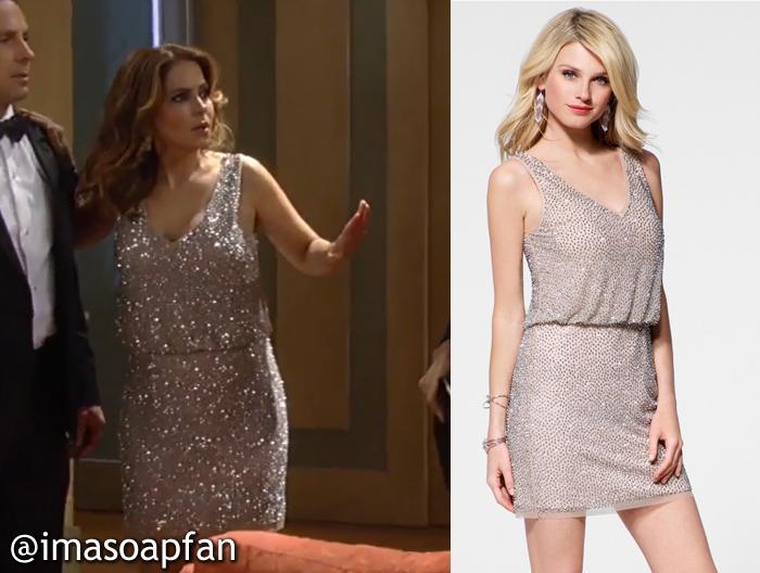 Olivia Falconeri\'s Sparkly Beaded NYE Dress - General Hospital ...