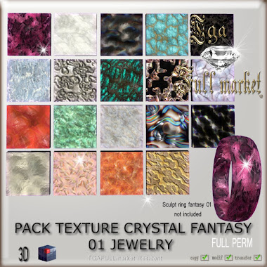 PACK TEXTURE CRYSTAL FANTASY 01