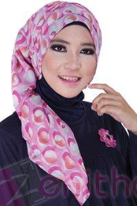 Zenitha Jilbab 04 - Pink (Toko Jilbab dan Busana Muslimah Terbaru)