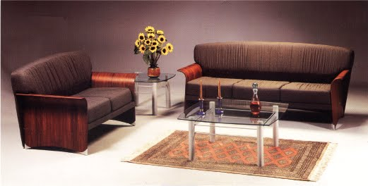Muebles de oficina juego de sala de espera para oficina for Sillones escritorios oficina
