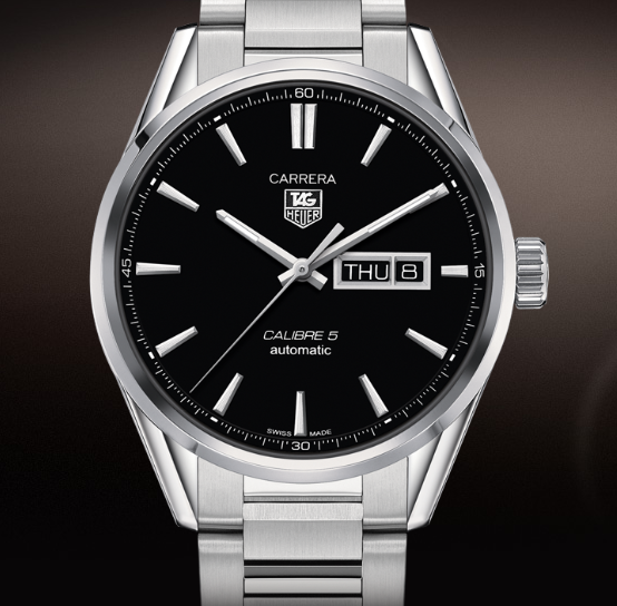 TAG HEUER CARRERA CALIBRE 5 DAY-DATE 41 MM