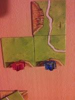 Imagen Carcassonne Juego de Mesa colocacion correcta