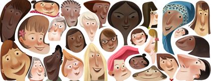 Doodle Día Internacional de la Mujer 2013