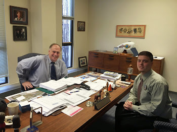 Mayoral Candidate Brandon Webb Visits Mayor