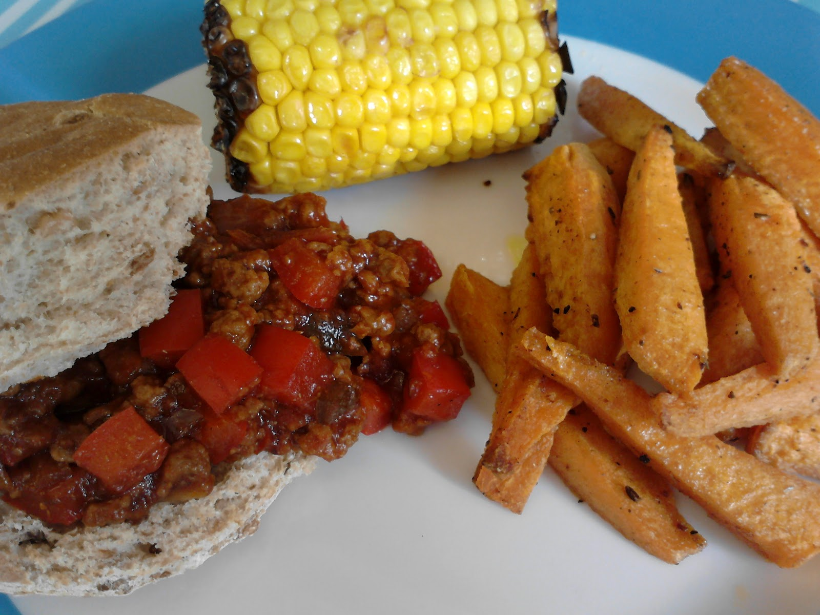 We Don't Eat Anything With A Face: Vegetarian Sloppy Joes