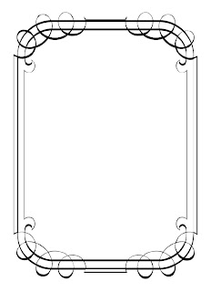 Printable Borders and Frames Clip Art