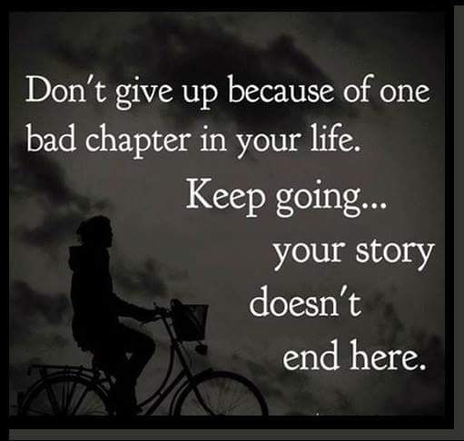 never give up in life quotes