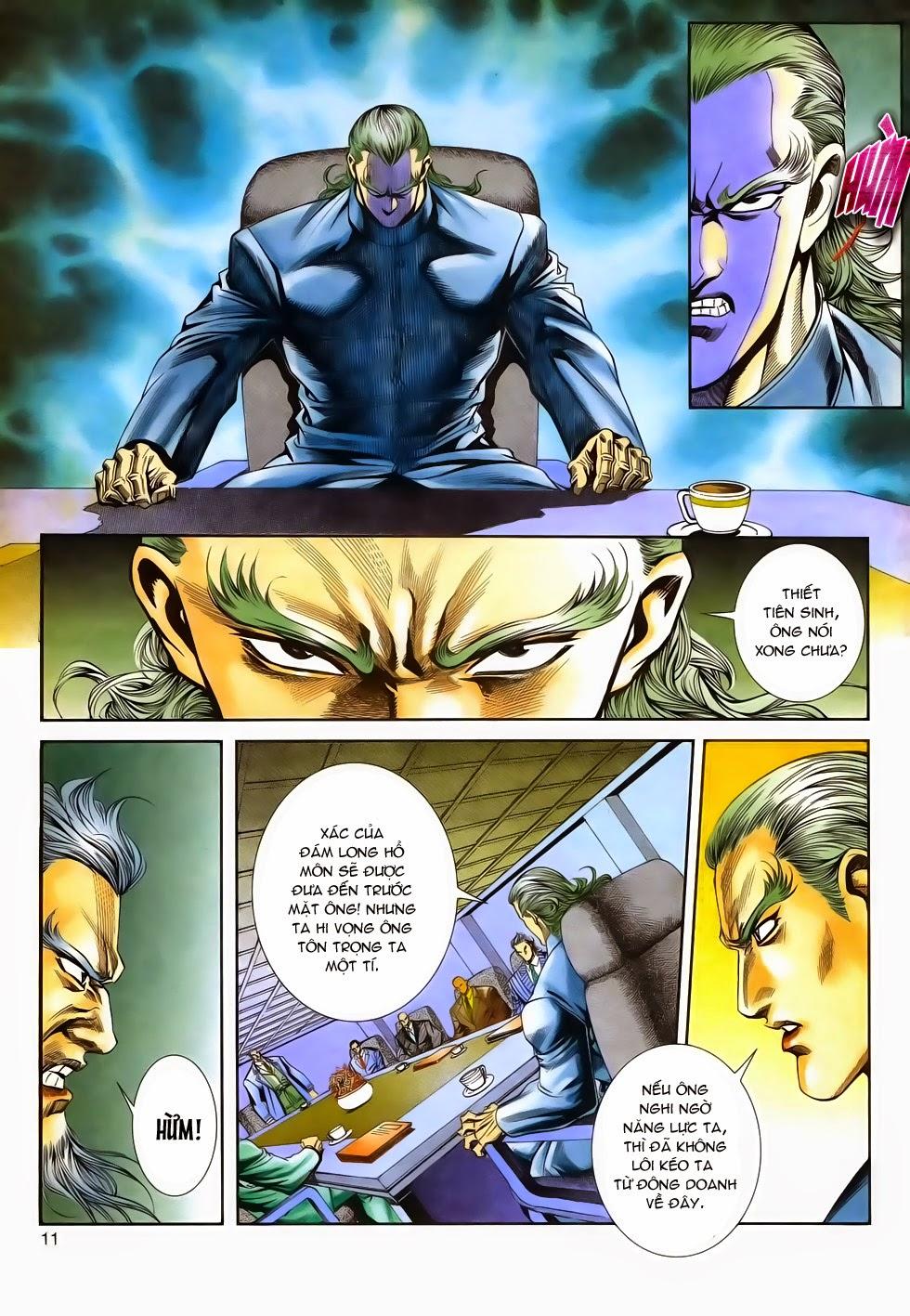 Long Hổ Phong Bạo chap 3 - Trang 11