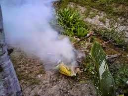 Dipukul jiran gara gara asap
