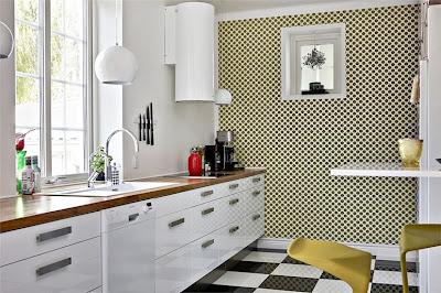 Electrodomesticos blancos decoraci n - Modelos de lamparas de techo para cocina ...