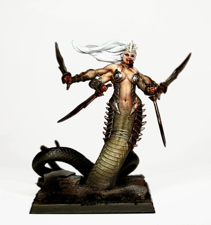 Daemon Prince Alternative a Slaanesh Daemon Prince