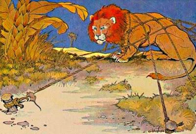 El lleó i el ratolí (Milo Winter)