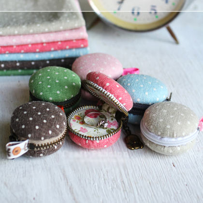 How To Make Macaron Coin Purse
