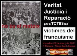 DIVUITENA CONCENTRACIÓ VERITAT, JUSTÍCIA I REPARACIÓ