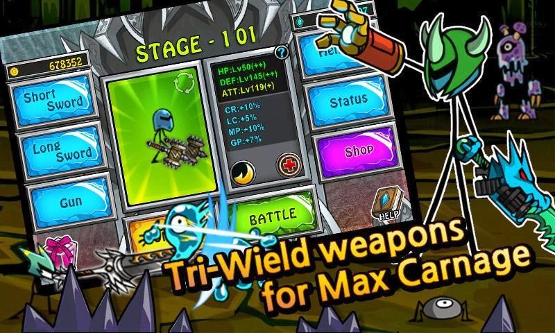 (Download) Cartoon Wars: Blade Apk + MOD Free Shopping V1