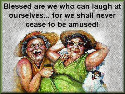 Laugh at YOURSELF!!!